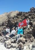 Iki Teidės vulkano viršūnės liko nedaug