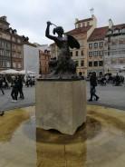 Varšuvos miesto simbolis - Undinėlė