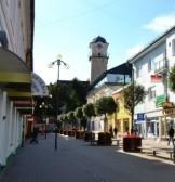 Poprad miesto centras