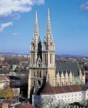 Zagrebo katedra