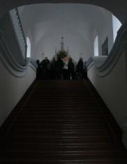Legendiniai Dievo apsreiškimo cerkvės laiptai