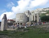 Legendinė Krujės pilis