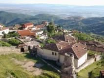 Krujė - kalnų miestelis, truputį atokiau nuo Adrijos pakrantės