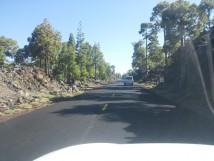 Teidės kalnų regione keliai puikiai sutvarkyti
