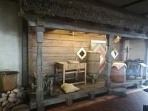 Tipiška senojo aludario klėtelė
