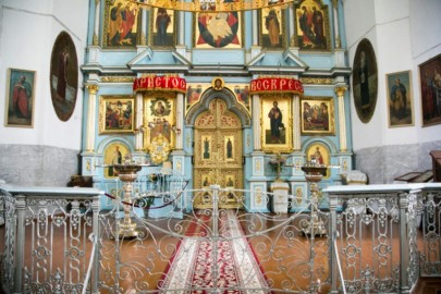 Cerkvės ikonostasas